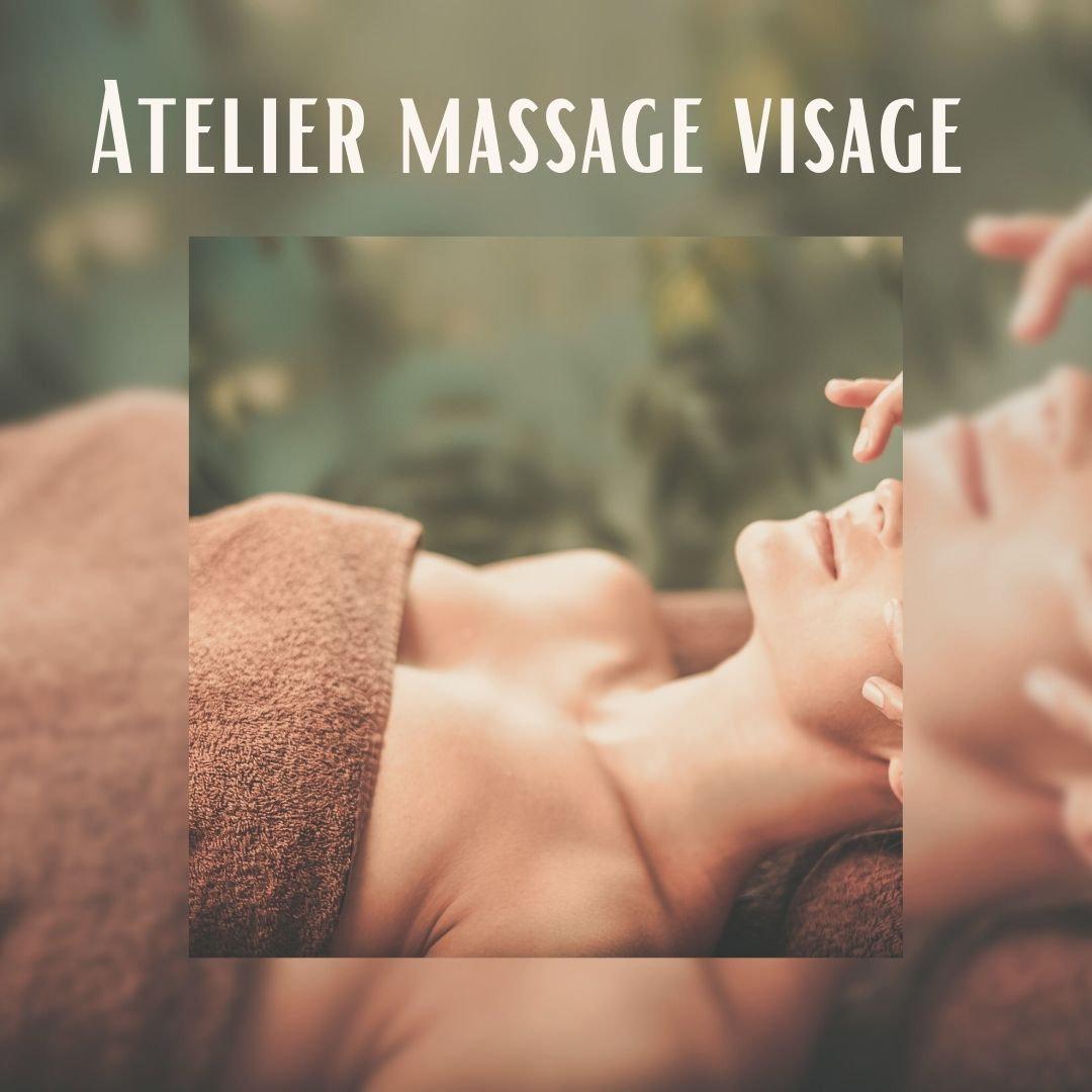 Atelier initiation massage visage