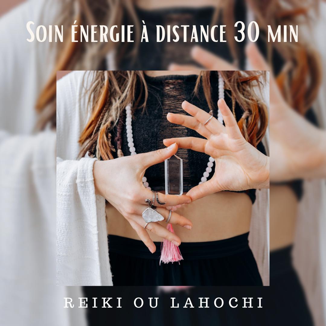 séance énergie à distance 45 min
