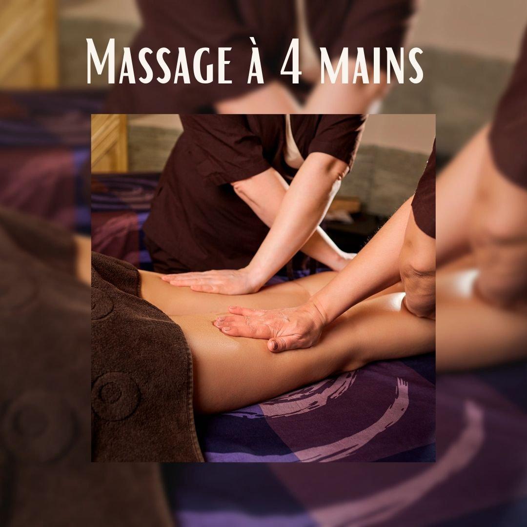 Massage à 4 mains 45 min