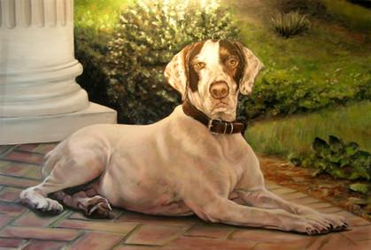 Pete-Dog Art, Painting.JPG