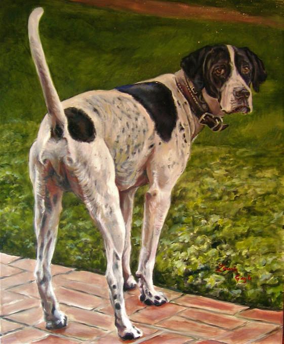 Venters 2-Dog Art, Painting.jpg