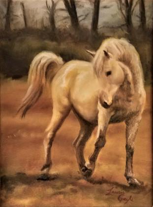 Andalusian,Horse Art,Painting.jpg