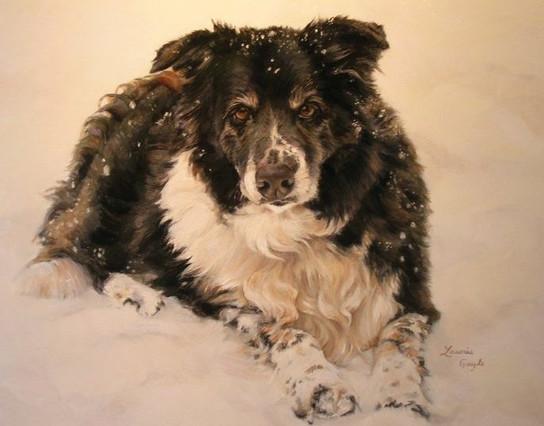 Rose-Dog Art, Painting Laurie Gayle.jpg