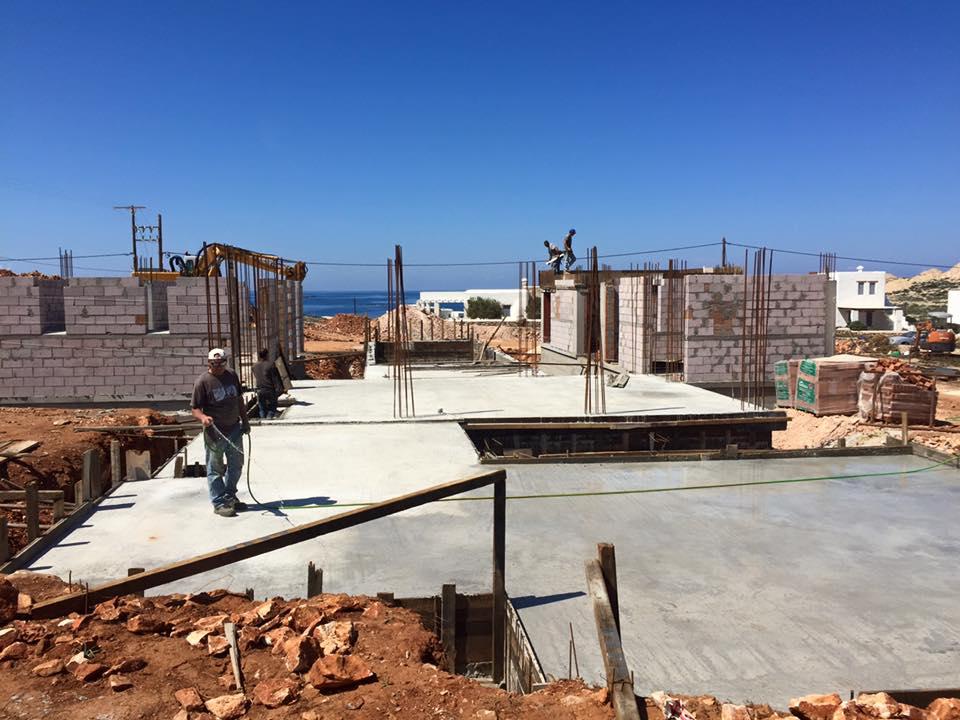 Paros - Antiparos Constructions