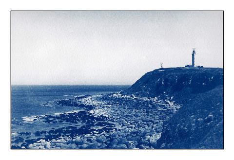 Cap Gris-Nez, Cyanotype
