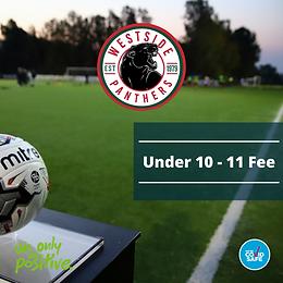 2021 Under 10 - 11 Player Fee - $160