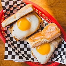 SPAM N EGG SLIDERS