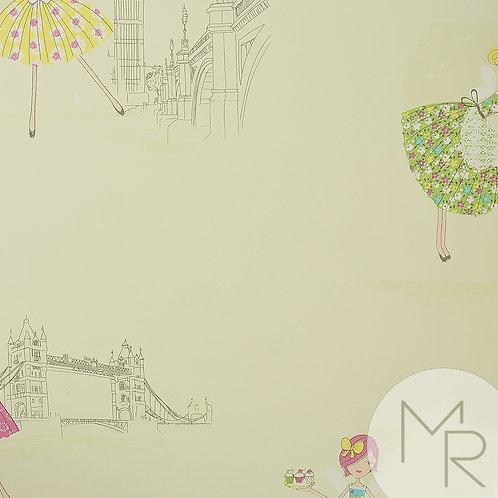 Papel de Parede Beauty Wall GF73801