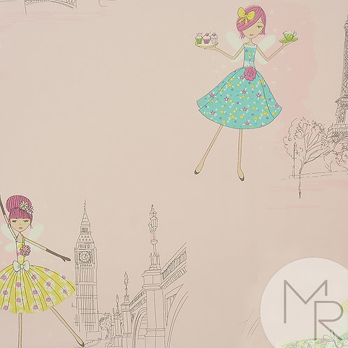 Papel de Parede Beauty Wall GF73802