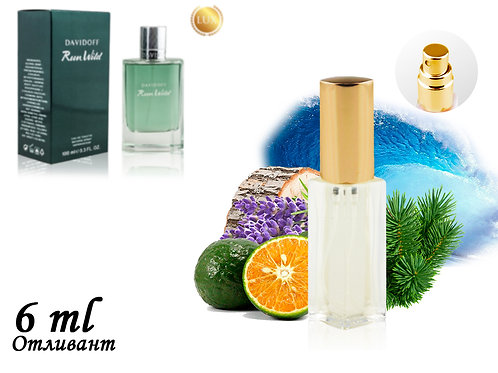 Пробник DAVIDOFF RUN WILD, Edt, 6 ml (ЛЮКС ОАЭ) 268