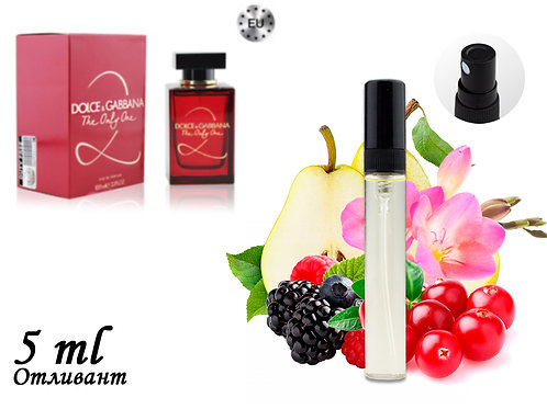 Пробник DOLCE & GABBANA THE ONLY ONE 2, Edp, 5 ml (Lux Europe) 145