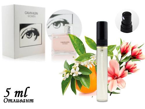 Пробник CALVIN KLEIN WOMEN, Edp, 5 ml (ЛЮКС ОАЭ) 81