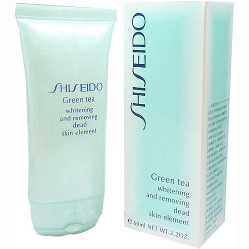 Пилинг для лица Shiseido Green tea 60ml