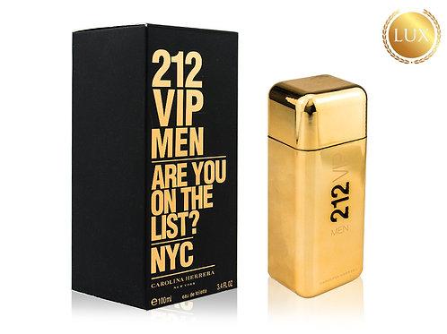CAROLINA HERRERA 212 VIP MEN GOLD, Edt, 100 ml (ЛЮКС ОАЭ)
