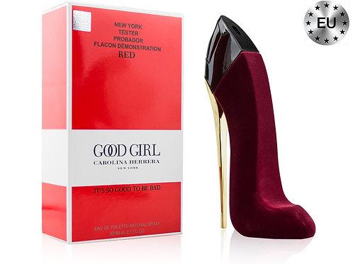 Тестер CAROLINA HERRERA GOOD GIRL VELVET FATALE RED, Edp, 80 ml (Lux Europe)