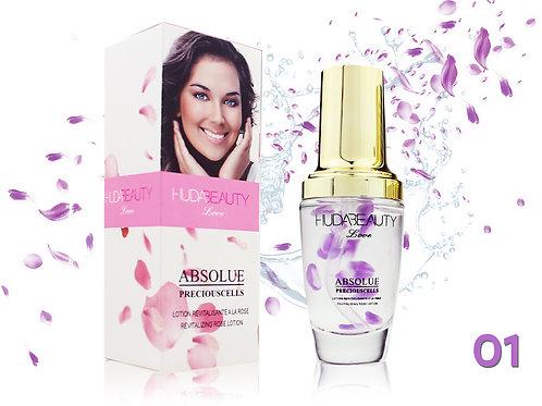 Лосьон восстанавливающий с экстрактом розы Huda Beauty 30 ml, Violet, 01