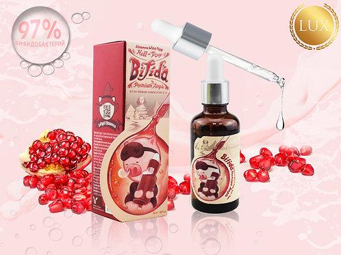 Сыворотка ночная ELIZAVECCA Hell-Pore Bifida Premium Ample 97%, 50 ml