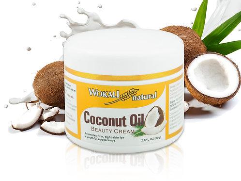 Кокосовый Крем для лица Wokali Coconut Oil Beauty Cream (528), 80 г