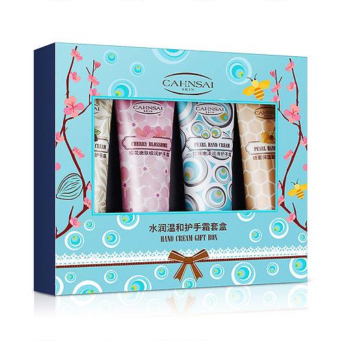 Подарочный набор кремов Cahnsai Hand Cream Gift Box 4 штуки (30615)