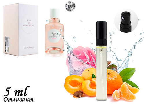 Пробник GIVENCHY EAU DE GIVENCHY ROSEE, Edt, 5 ml (Lux Europe) 149