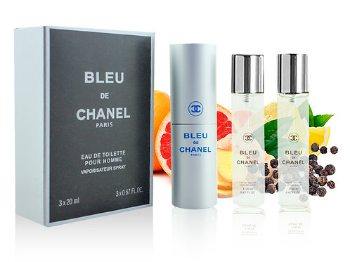 CHANEL BLEU DE CHANEL, Edt, 3x20 ml (муж)