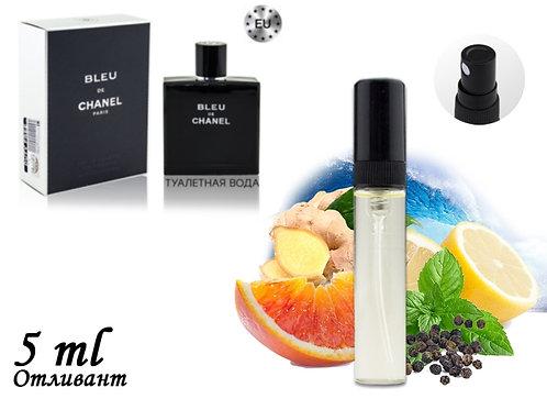 Пробник CHANEL BLEU DE CHANEL, Edt, 5 ml (Lux Europe) 147