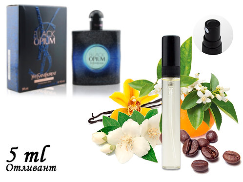 Пробник YVES SAINT LAURENT BLACK OPIUM INTENSE, Edp, 5 ml (ЛЮКС ОАЭ) 87