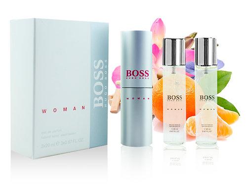HUGO BOSS BOSS WOMAN, Edp, 3x20 ml (жен)