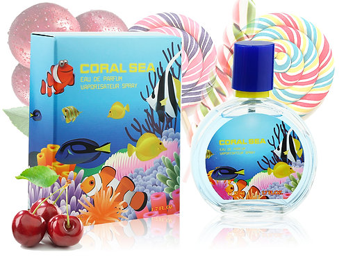Детский парфюм Coral Sea Candy Cherry, Edp, 50 ml