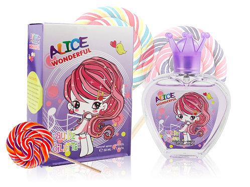 Детский парфюм ALICA WONDERFUL Tutti frutti , Edt, 50 ml
