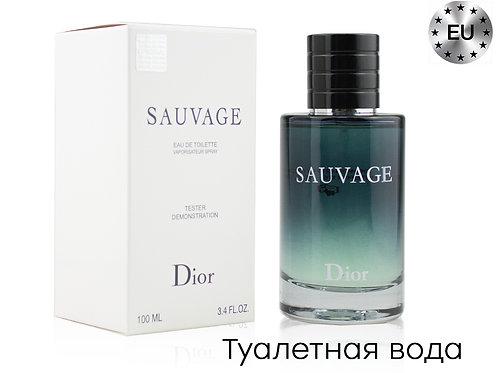 Тестер DIOR SAUVAGE, Edt, 100 ml (Lux Europe)