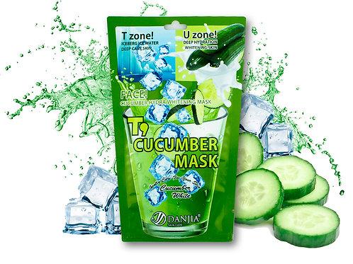 Увлажняющая тканевая маска с Огурцом Danjia Ise Water (8923), 30 ml