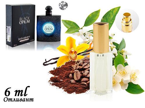 Пробник YVES SAINT LAURENT BLACK OPIUM INTENSE, Edp, 6 ml (Lux Europe) 332