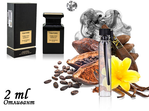 Пробник Tom Ford Tobacco Vanille, Edp, 2 ml (Lux Europe) 431