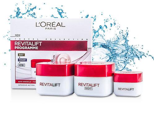 Набор кремов Loreal Revitalift Programme (дневной 50 ml + ночной 50 ml + для гла