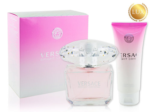 Набор Versace Bright Crystal + Body Lotion, Edt, 90 ml