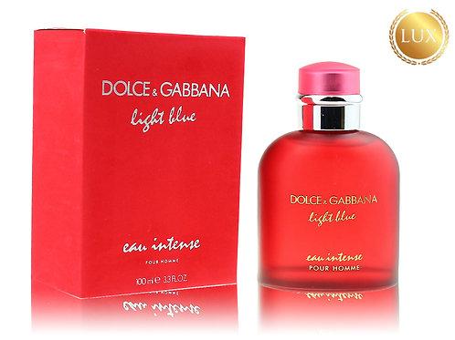 DOLCE & GABBANA LIGHT BLUE EAU INTENSE POUR HOMME RED, Edp, 100 ml (ЛЮКС ОАЭ)