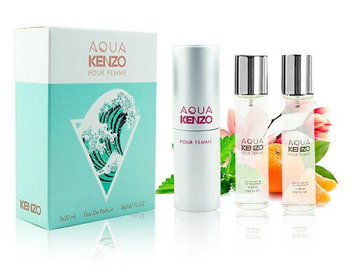 KENZO KENZO AQUA POUR FEMME, Edp, 3x20 ml (жен)