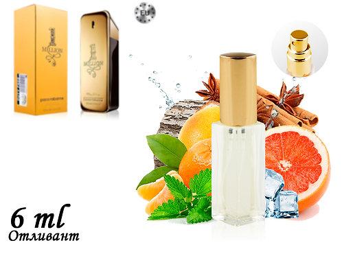 Пробник PACO RABANNE 1 MILLION, Edt, 6 ml (Lux Europe) 232