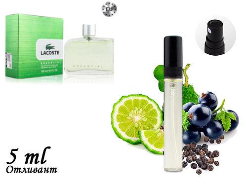 Пробник LACOSTE ESSENTIAL, Edt, 5 ml (Lux Europe) 156