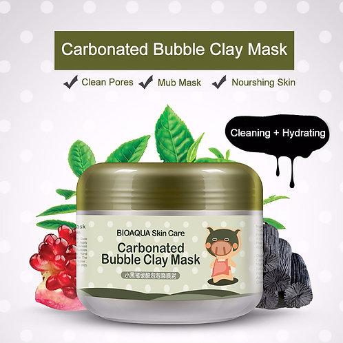 Bioaqua очищающая пузырьковая маска Carbonated Bubble Clay Mask (арт. 0511), 100