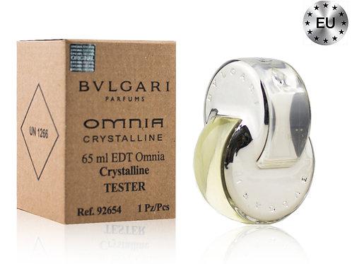 Тестер BVLGARI OMNIA CRYSTALLINE, Edt, 65 ml (Lux Europe)