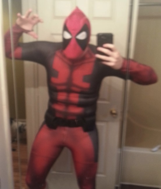 Deadpool Sub Dye Cosplay Costume
