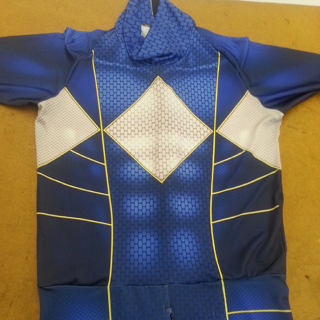 Custom Blue Power Ranger Suit