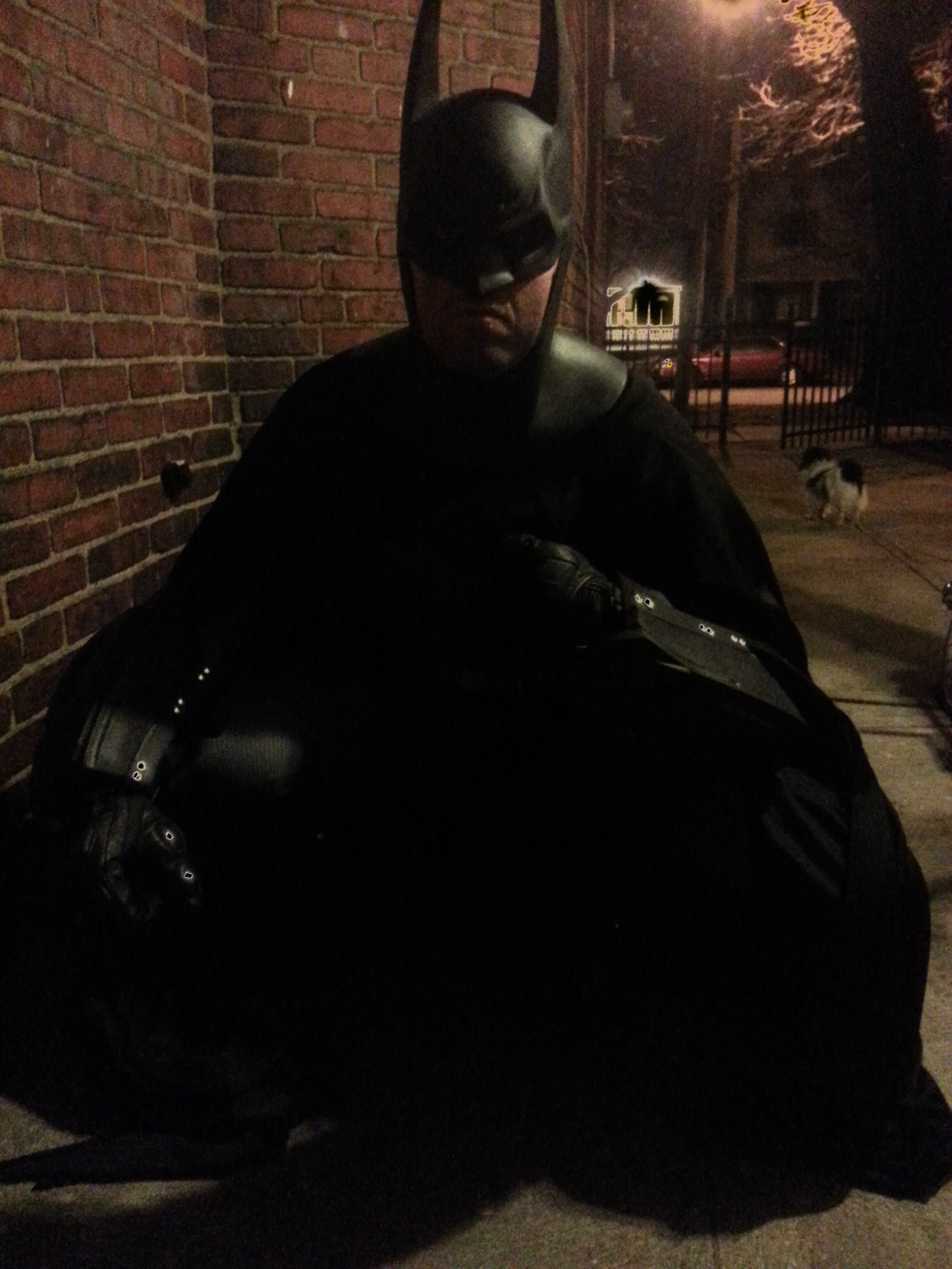 Arkham City Batman Cosplay suit