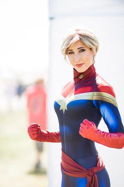 Captain Marvel Cosplay