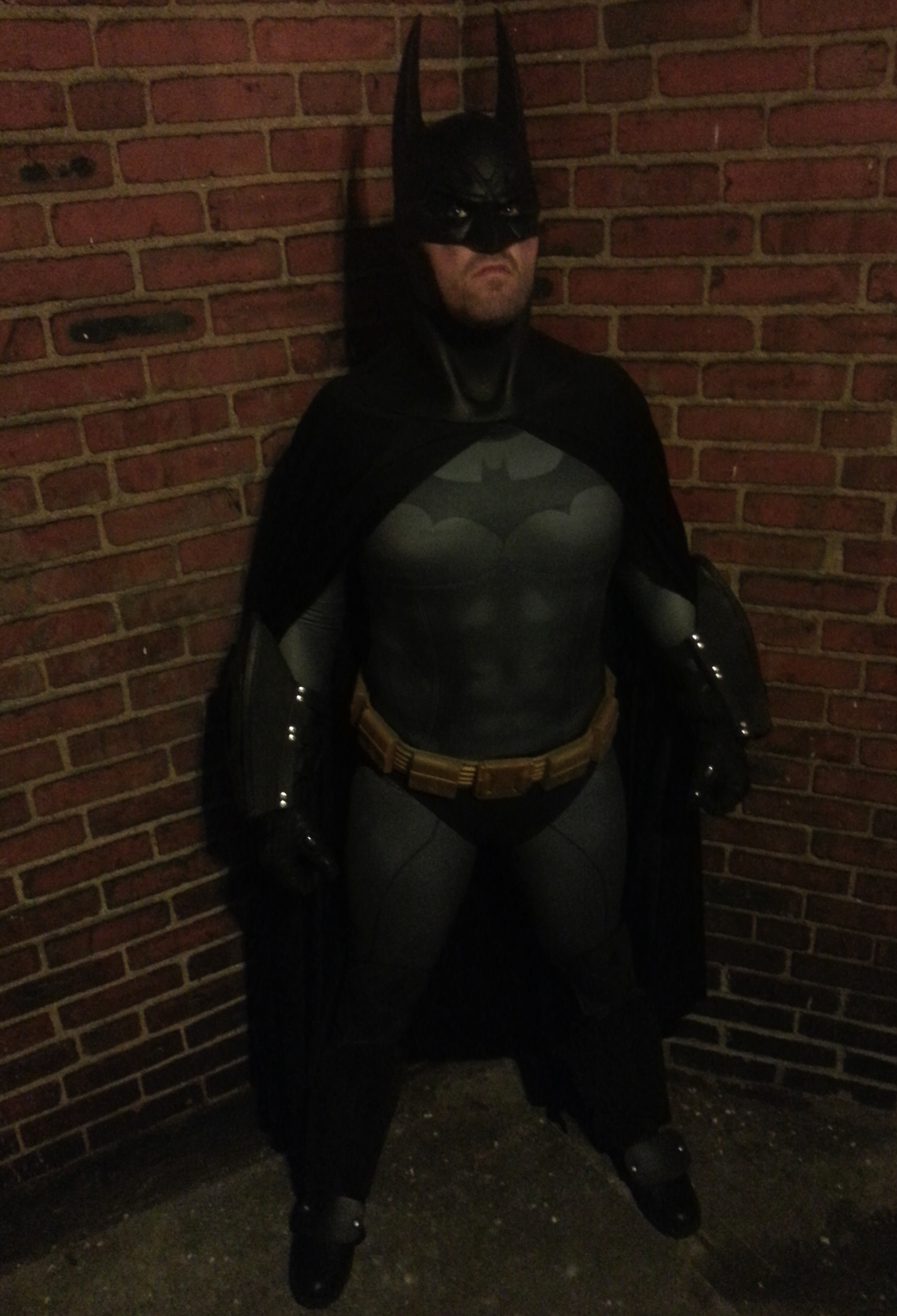 Arkham City Batman cosplay