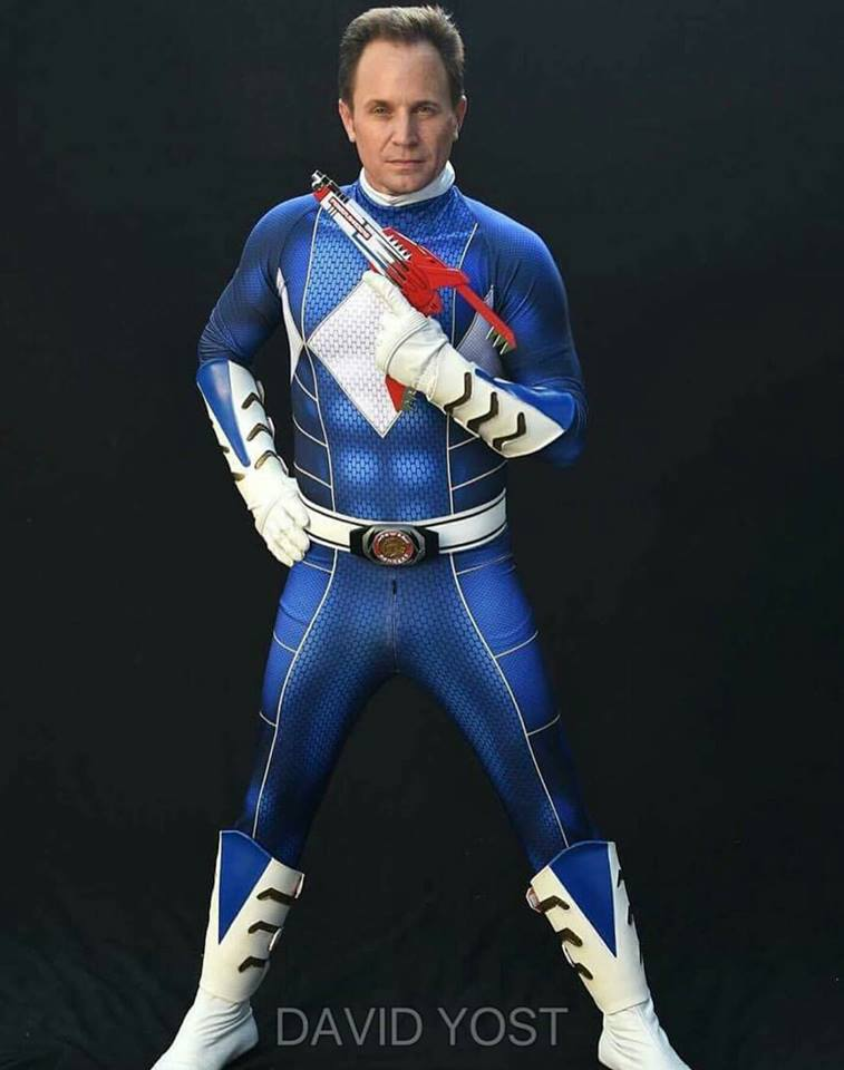 Blue Power Ranger Cosplay
