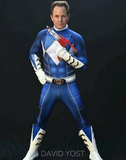 Blue Power Ranger Cosplay