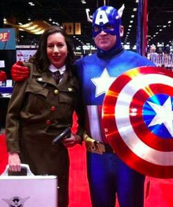 Classic Captain America at Comic Con